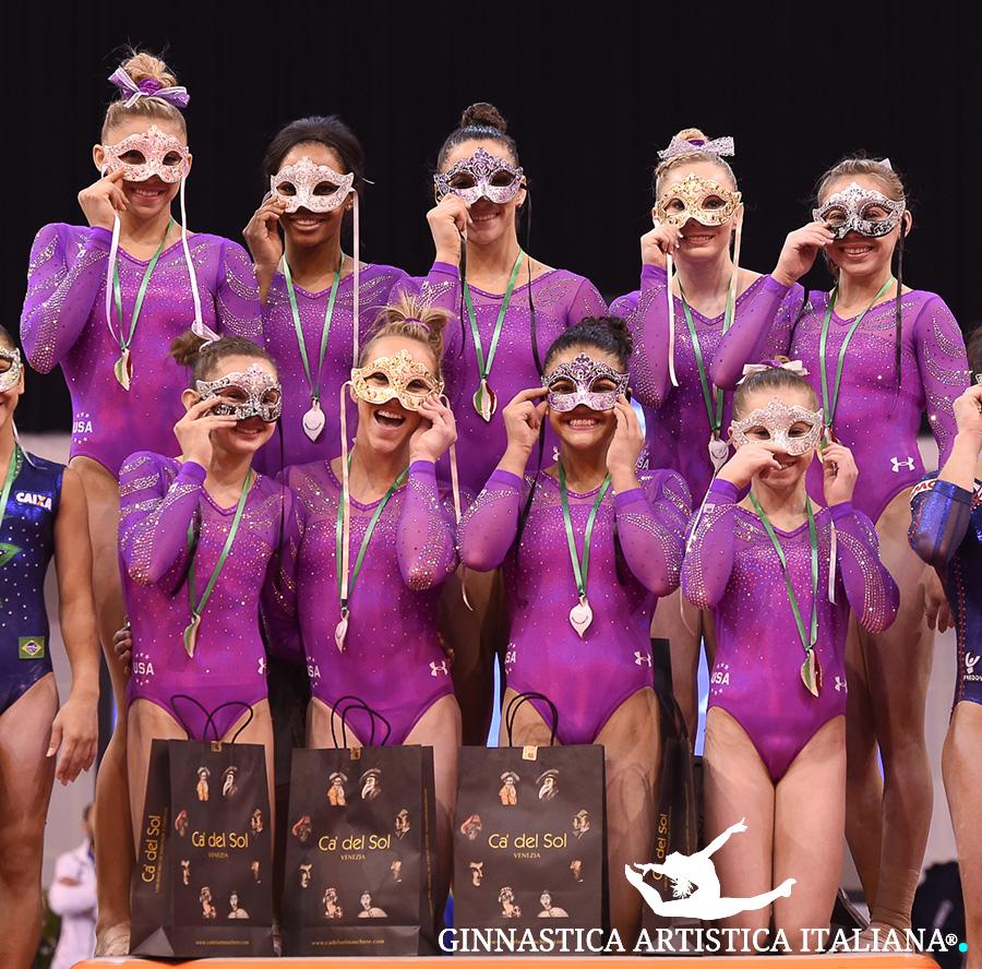 usa team jesolo gold medal